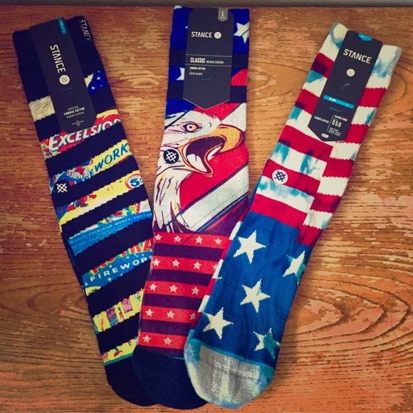 Stance Other - 🔥🇺🇸 NEW Stance America Socks Ltd Edition 🇺🇸🔥